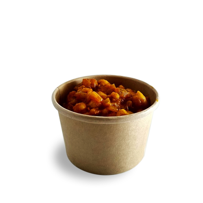 Chana Masala in an 8oz container